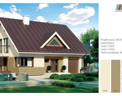 How to match facade colours to brown roof?