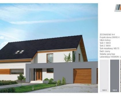 House facade colours and a graphite roof - 5 original ideas
