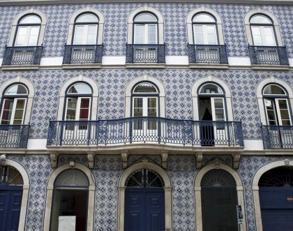 Colours of Portugal - azulejos and colourful facades of scenic tenements