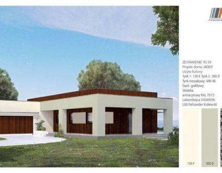 4 interesting ideas for facade of a bungalow