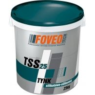 TSS 25 Silicate-Silicone Plaster